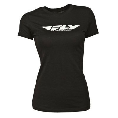 Fly Racing T-Shirt Corp Lady schwarz