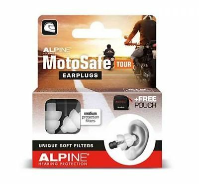 Alpine MotoSafe Reusable Ear Plugs Tour