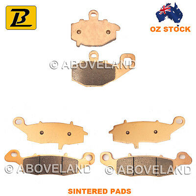 FRONT REAR Sintered Brake Pads KAWASAKI Z 750 ZR 750 J1 J2 J6F 2004 2005 2006