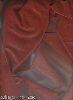 "1 - Rust Colored Ultrasuede 60"" x 2 yards (2017-104)"