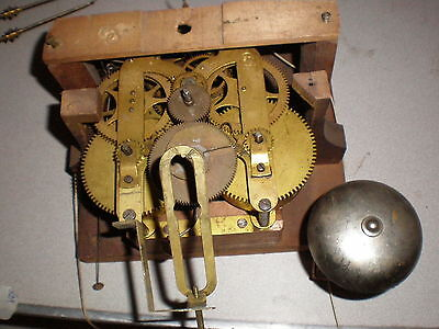 Antique-Seth Thomas-Calendar Clock-Top Movement-Ca.1880-To Restore-#M116