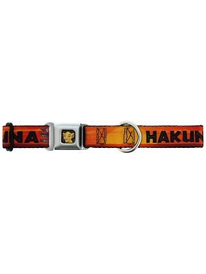 Walt Disney Lion King Hakuna Matata Dog Collar