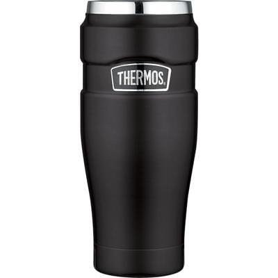 Isoliertrinkbecher Stainless King schwarz 0,47 Liter Thermos black Trinkbecher