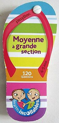 Les p'tits incollables 120 questions Moyenne à grande section 4-5 ans. PlayBac