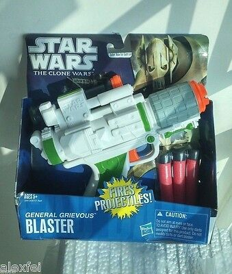 Nerf Toy Gun Star Wars General Grievous Blaster Pistol Soft Dart Clone War Sw301