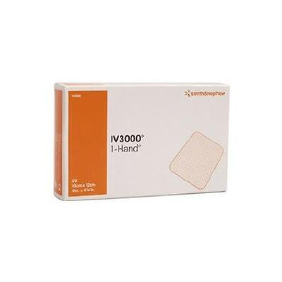 "Smith & Nephew IV3000 Transparent Dressings 4""x4 3/4"", Pack of 10 Dressings"