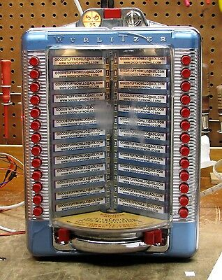 Wurlitzer Jukebox Wallbox 5204A Restored -   Stock #5532