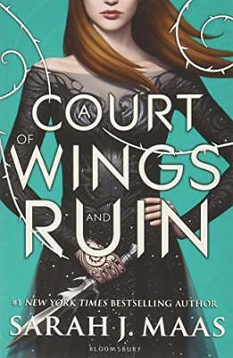 A Court of Wings and Ruin (A Court of Thorns by Sarah J. Maas New Paperback Book