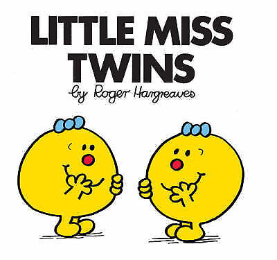 NEW (12)  LITTLE MISS TWINS ( BUY 5 GET 1 FREE book )  Mr Men