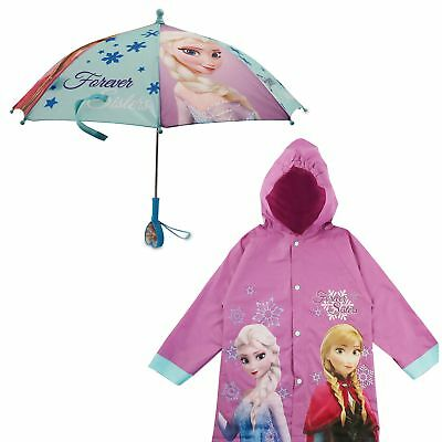 Disney Frozen Character Slicker and Umbrella Rainwear Set, Little Girls, Age 2-7