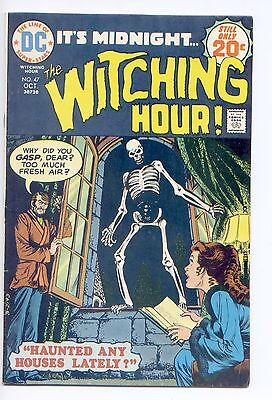 The Witching Hour #47 (Oct 1974, DC) 6.5 FN+ Please see scans and desc.