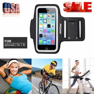 Gym Running Jogging Arm Band Sports Armband Case Holder Strap for iPhone 5/5s US