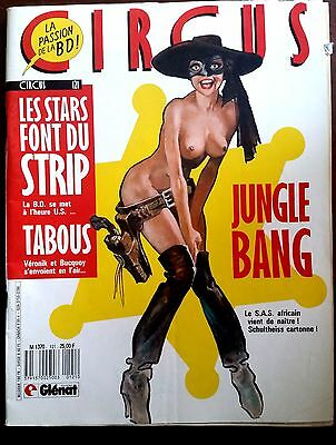 CIRCUS n°121 de 1988; Lou Strass et SIDA/ American Graffitis/ Jungle Bang