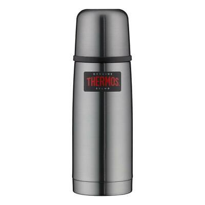 Isolierflasche 0,35 Liter Thermos Light & Compact grau Edelstahl Thermosflasche