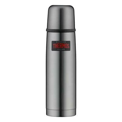 Isolierflasche 0,5 Liter Thermos Light & Compact grau Edelstahl Thermosflasche