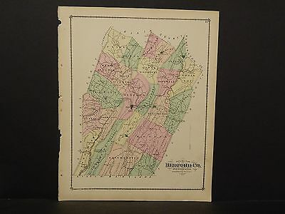 Pennsylvania Bedford County Map 1877  !W9#89