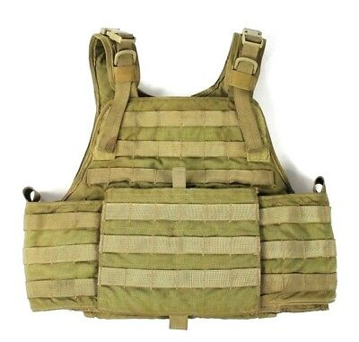 "Eagle Industries MJK Khaki Tan 1000D MBAV S/M Plate Carrier Vest ""B"" SF"