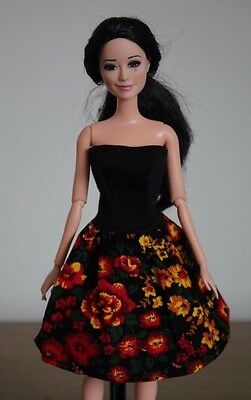 Clothes for Barbie Doll. Dress for Dolls.