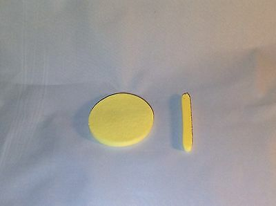 240 Compressed Spa Facial Cleaning Sponge. Yellow.