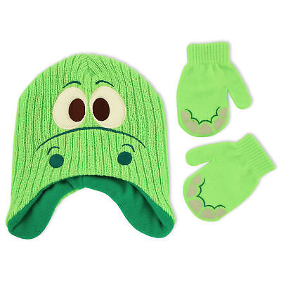 Disney The Good Dinosaur Hat and Mitten Cold Weather Set, Toddler Boys, Age 2-5