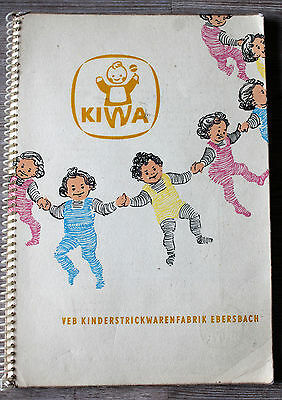 altes KIWA Advertising book, Baby Belongings GDR Rare ! Ebersbach
