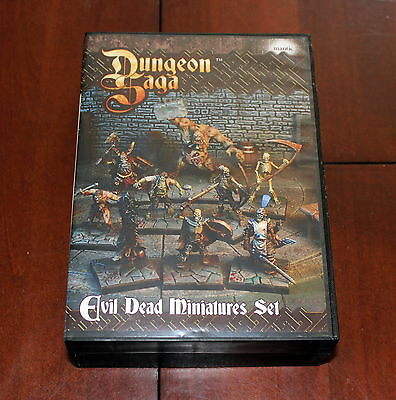 Dungeon Saga board game Evil Dead Miniatures Set 2015 Mantic 28mm undead