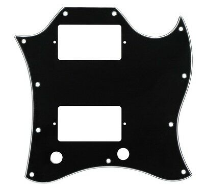 New Black SG Pickguard 3 Ply for USA Gibson SG Standard Guitar