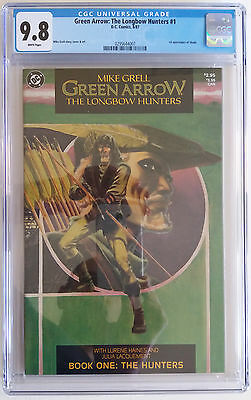 GREEN ARROW: THE LONGBOW HUNTERS  1  CGC 9.8 - 0295644007 - White pages!