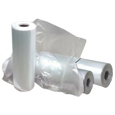 "Plastic Garment Clear 42"" Poly Bag"
