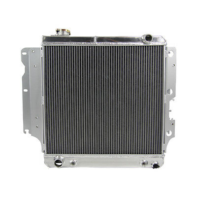3Row Alloy Radiator Fit Jeep Wrangler YJ TJ 2.4L 2.5L I4 4.0L 4.2L I6 1987-06 03