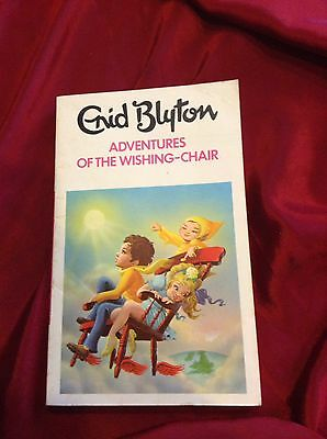 Adventures Of The Wishing Chair By Enid Blyton- Paperback Book
