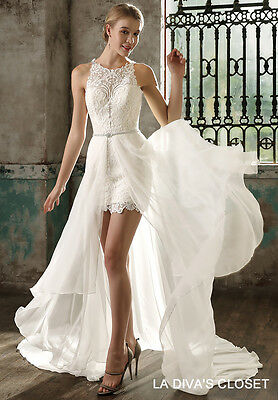 85e85805485e Formal Mini Wedding Dress With Datachable Train, Delivery In About 28 Days.