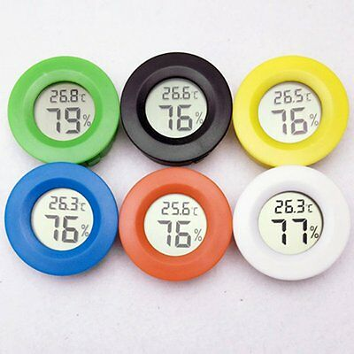 Digital Temperature Humidity Meter Fridge Freezer Tester Detector Hygrometer Car