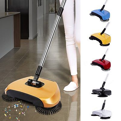 Hand Push Automatic Sweeping Robot Vacuum Cleaner without Electricity Household