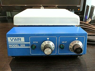 Thermolyne VWR 320 Hot Plate Stirrer, Tested, Excellent Condition, See Photos!