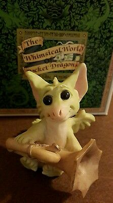 Pocket Dragon **MIB and Signed** - Practice Makes Perfect - 1992