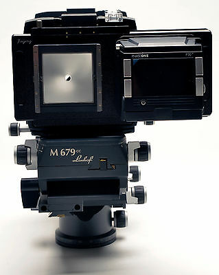 Moveable adapter for linhof M679 Back to Mamiya 645 Camera Photograph