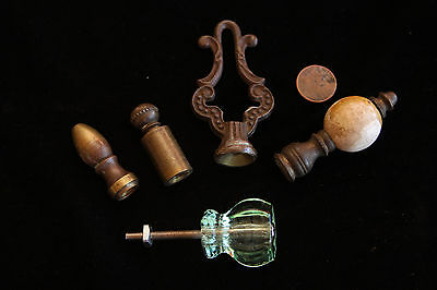 Vintage Knobs and Drawer Handles - Glass - Brass - Others
