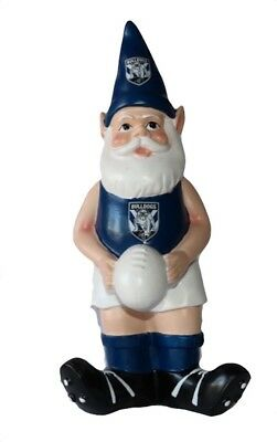 Canterbury Bulldogs NRL Garden Gnome with White Ball 2017