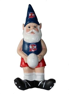 Sydney Roosters NRL Garden Gnome with White Ball 2017