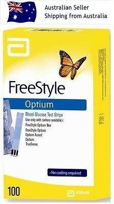FreeStyle Optium Test Strips 100 (Exp: 31/0718)