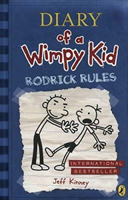 Diary of a Wimpy Kid: Rodrick Rules (Book 2) by Jeff Kinney New Paperback Book