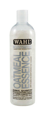 Wahl Showman Oatmeal Essence Shampoo 500ml or 5 litre Horses Dogs Cattle etc