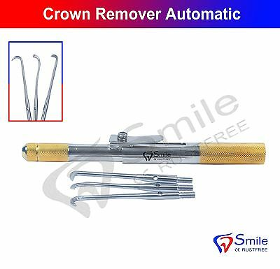 Professional Orthodontic Crown Remover Automatic Dental CE with 3 Attachments