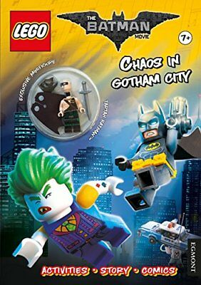 The LEGO Batman Movie: Chaos in Gotham City (Activity Book with Exclusive...