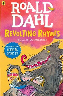 Revolting Rhymes by Roald Dahl New Paperback Book