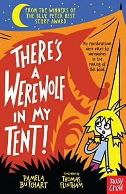 There's a Werewolf in My Tent! (Baby Alien by Pamela Butchart New Paperback Book