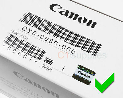 Original Canon Druckkopf QY6-0080-000 Printhead IP4850 MG5250MG5350 MX895 ix6510