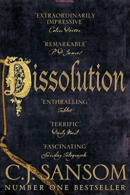 Dissolution (The Shardlake series) by C. J. Sansom New Paperback Book