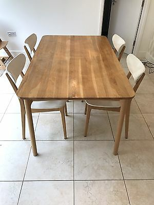 John lewis dining table and chairs picclick uk for Prem table 99 00